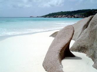 Petit Anse, La Digue, Seychellerna