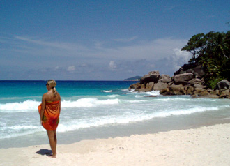 Anse Georgette, Praslin, Seychellerna
