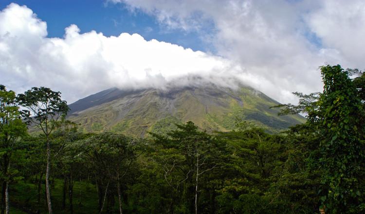 Arenal Vulkan i Costa Rica