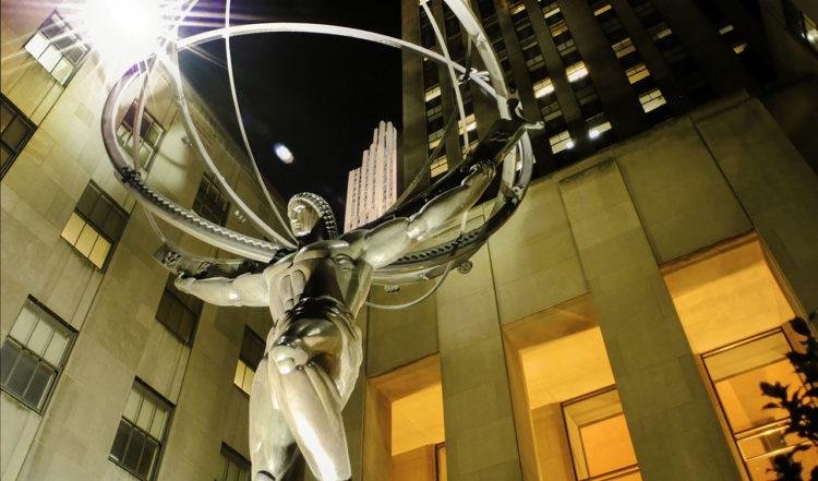 Rockefeller Center staty, New York City