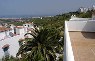 Utsikt från Monte Viñas