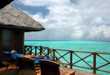 Altan till honeymoon villa, Vilu Reef, Maldiverna