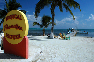 Tropical Paradise, Caye Caulker, Belize
