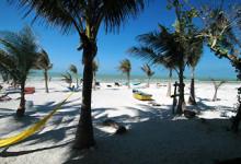 Strand, Isla Holbox, Mexiko