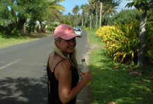 På Rarotongas vägar