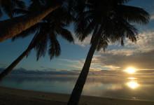 Solnedgang, Aitutaki