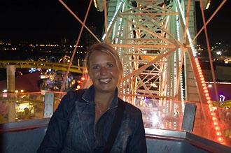 Anki i pariserhjulet, Santa Monica