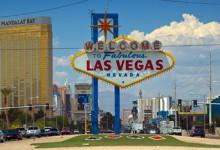 Las Vegas skylt - Welcome to Las Vegas