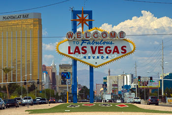 Las Vegas skylt - Welcome to Las Vegas