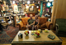 Anki & Lasse i Vänner-soffan, Warner Brothers VIP Tour