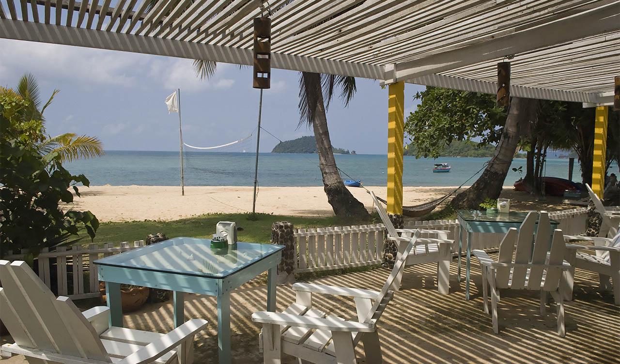 Baan Koh Mak på Ao Kao Strand, Thailand
