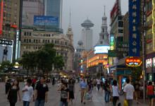 Shoppinggata, Shanghai
