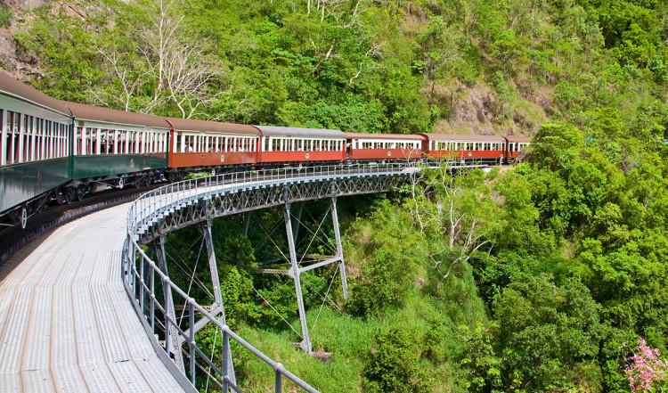 Kurva, Kuranda Scenic Railway