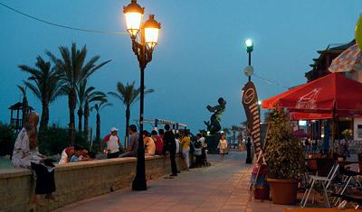 Strandpromenad, Sabinillas
