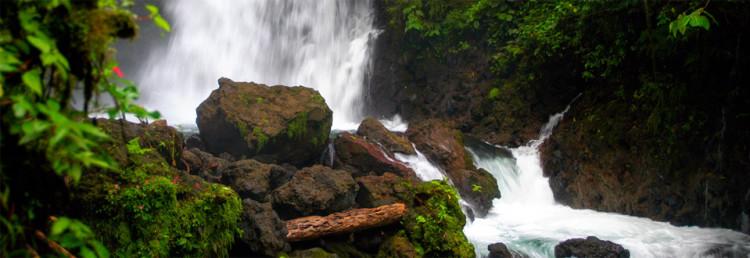 Arenal Waterfall, Costa Rica