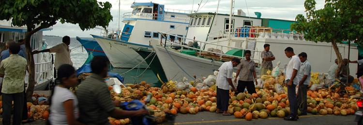 Malé, huvudstad på Maldiverna