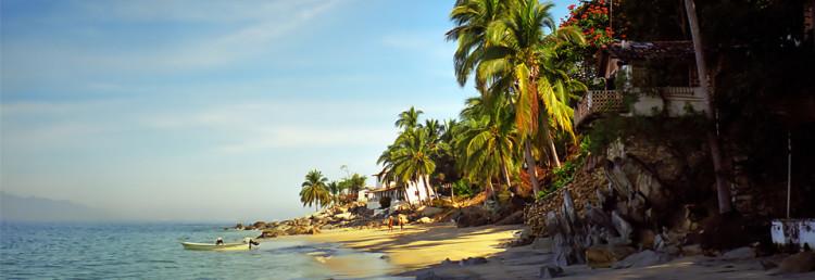 Las Animas Beach south of Puerto Vallarta, Mexico