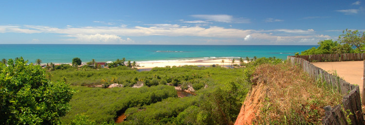Trancoso in Bahia, the most beautiful coast of Brazil