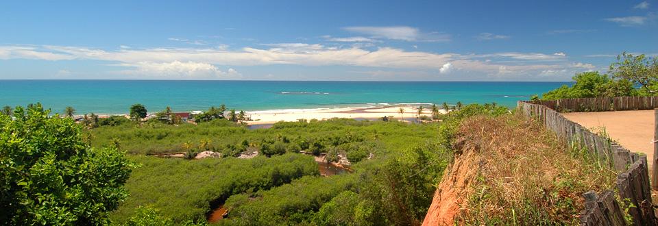 Trancoso in Bahia, the most beautiful coast of Brazil