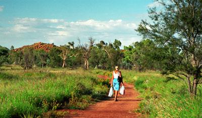 Mot trig utsiktsplats, Alice Springs