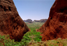 Valley of the winds, Olgas