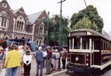 Marknad i Christchurch
