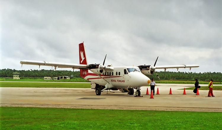 Royal Tongan Airplane, Fuaamotu Airport, Tonga