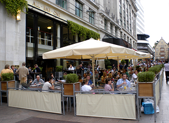 All bar one, Leicester Square