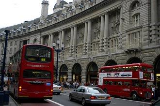 Regant street, London