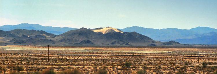 Nevada bilresa från Las Vegas till Los Angeles