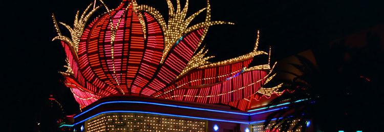 Entré Flamingo Casino i Las Vegas, Nevada