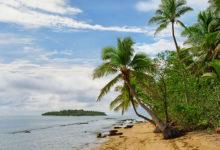 Tatafa sett från Uiha, Tonga