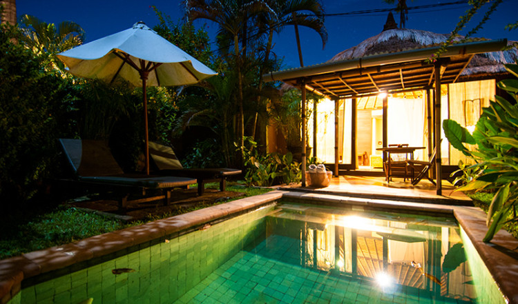 Lanai med pool, kàMAYA Resort Spa & Villas, Sanur