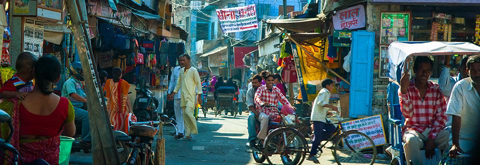Reseskildring Gyllene Triangeln i Indien