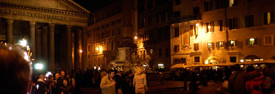 Rom Nyårsafton 2004, Italien
