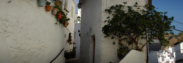Casares, Pueblo Blanco Spanien