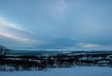 Þingvellir national park och Tingvallavatn från öster