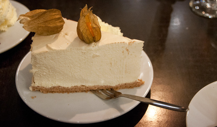 Skyr Cheesecake, Dessert Café Solon Reykjavik