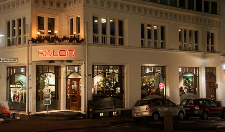 Exteriör Café Solon, Reykjavik