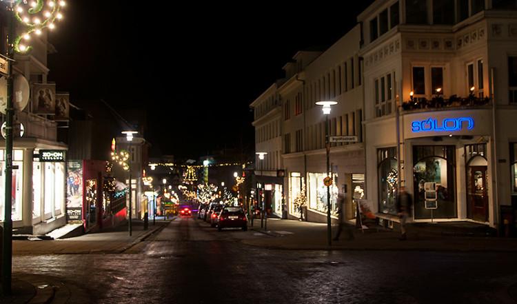 Kaffi Sólon, Bankastræti Reykjavik