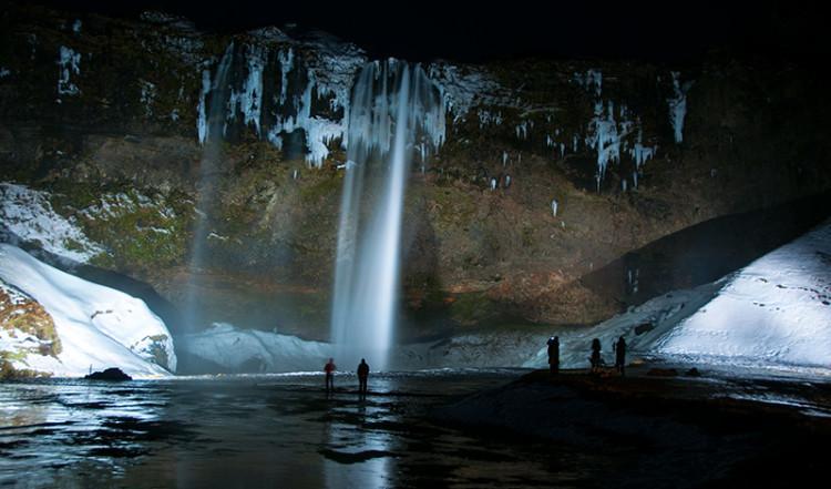 Seljalandsfoss  vattenfall, Island