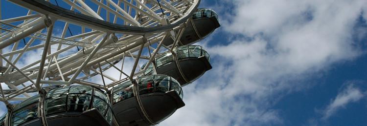 London Eye, England Storbritannien