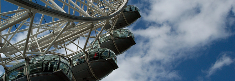 London Eye, England Storbritannien