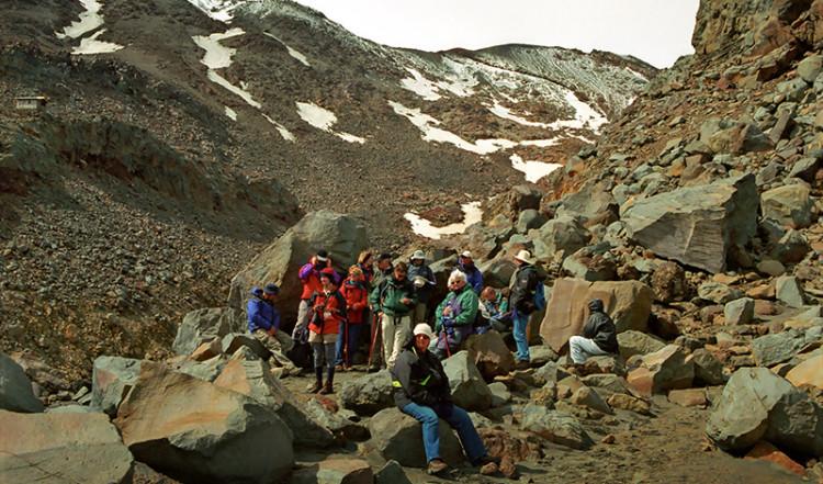 Guidad tur, Mt Ruapehu Crater climb