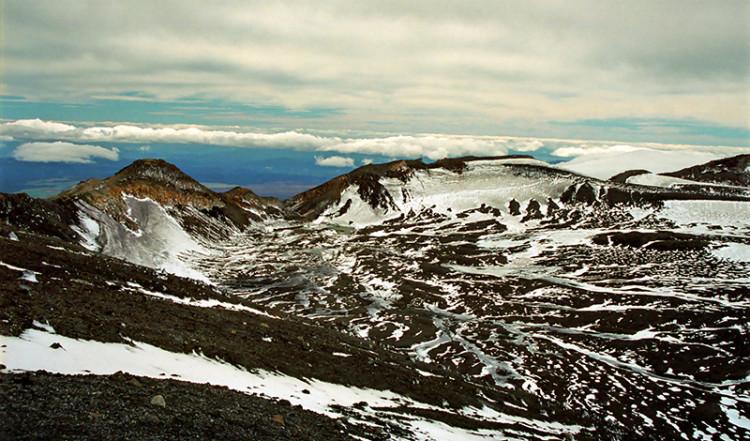 Vacker vyer, Mt Ruapehu Crater climb