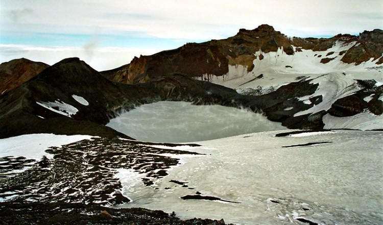 Krater sjö, Mt Ruapehu Crater climb
