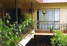 Balkong på Nadi Bay Resort Hotel, Fiji