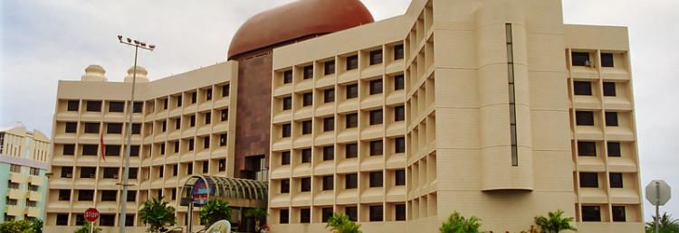 Samoas regeringsbyggnad i centrala Apia, Samoa