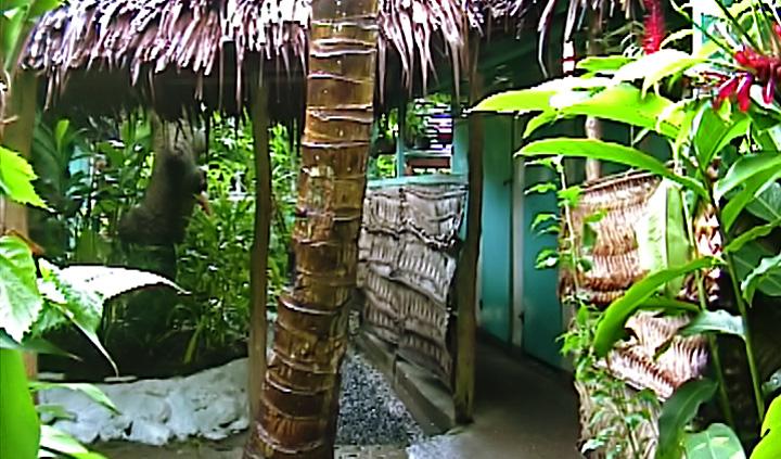 Byggnad på Seipepa i Apia, Samoa