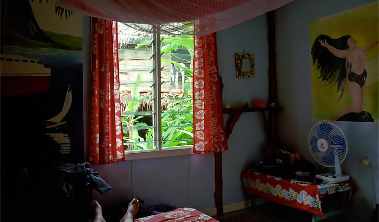 Ett rum på Seipepa, Samoa